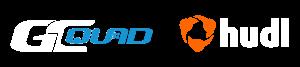 GC Quad and Hudl software logos