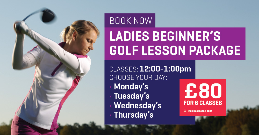 Ladies beginner golf lessons