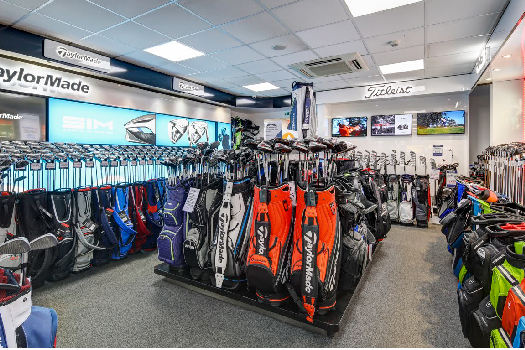 Silvermere Golf Store - Club Department