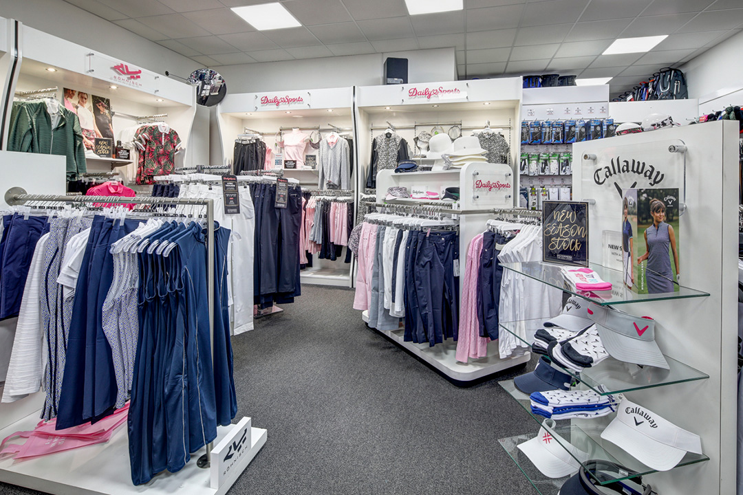 Silvermere Golf Store - ladies clothing department