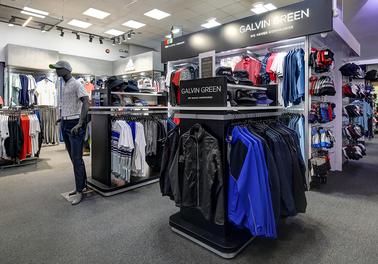 Silvermere Golf Store men's clothing