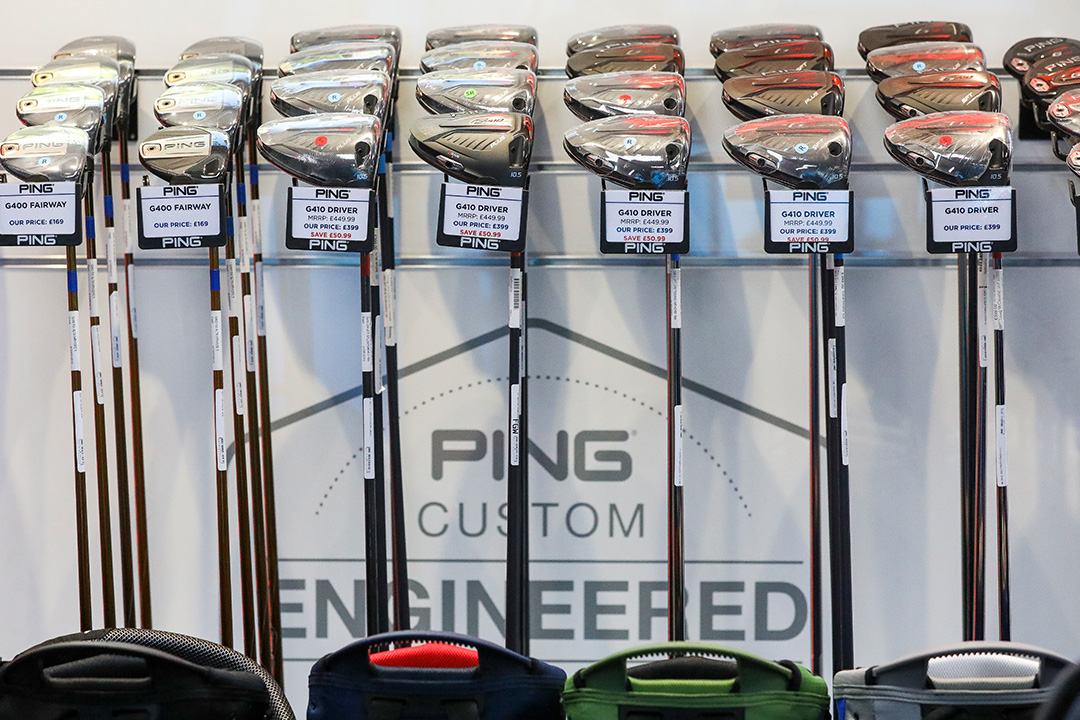 Ping department Silvermere Golf Store