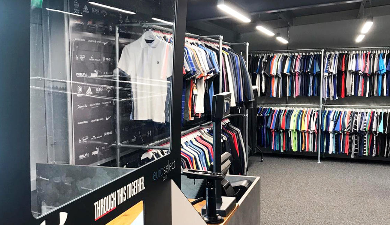 Shop men's clearance clothing at Silvermere Golf