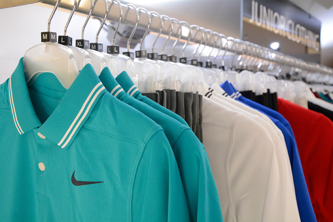Junior Nike golf clothing